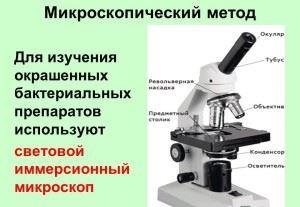 микроскопический метод