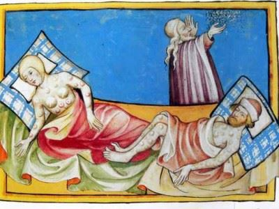 чума в Средневековье
